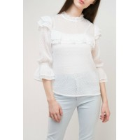 Women Esley Collection Annie Blouse    Elegant and beautiful 100%Poly BL245EY GTASYDQ