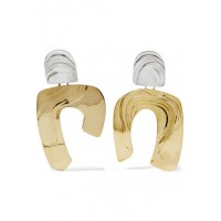 Leigh Miller Women Totem gold-tone and silver earrings This item's measurements are: 1076220 ZGVNXMQ